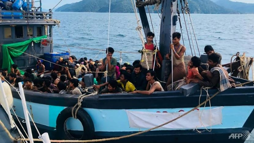 Traffickers demand ransoms for Rohingya held at sea in Southeast Asia
