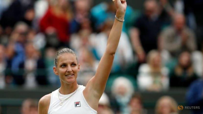 Tennis-Czech Pliskova finally reaches Wimbledon semi-finals