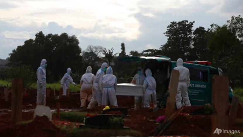 Indonesia reports record 14,518 new coronavirus cases