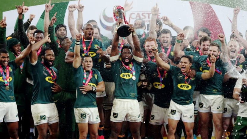Rugby-Hungry Boks sensed higher purpose in determination to beat Lions