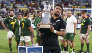 All Blacks edge Springboks in 100th test to win Rugby Championship