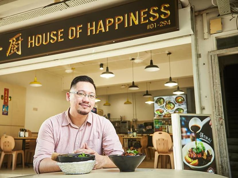 The Singaporean chef-turned-hawker creating a food empire built on lor bak