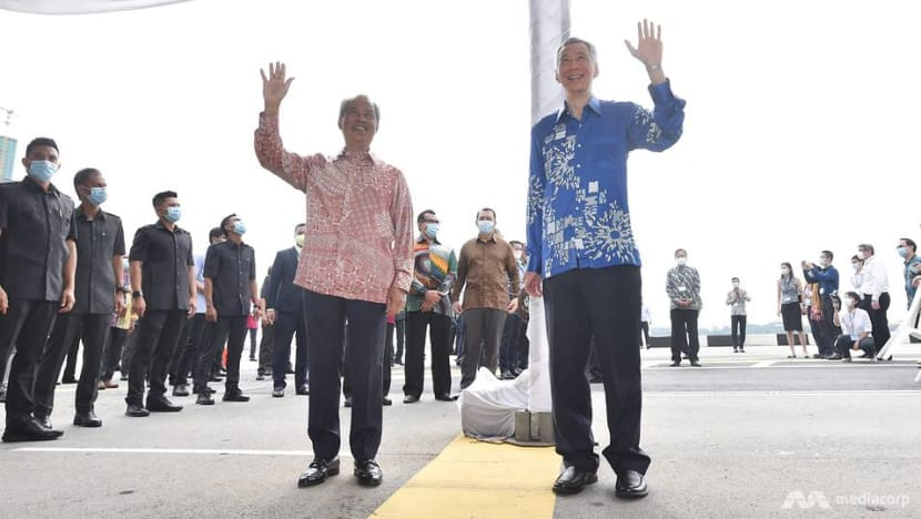 Singapore, Malaysia hold ceremony at Causeway to mark resumption of RTS Link project
