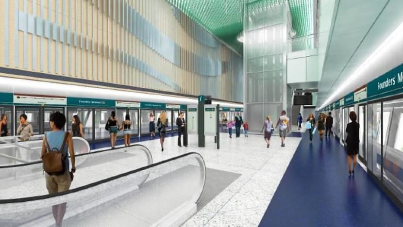Founders' Memorial MRT station added to Thomson-East Coast Line