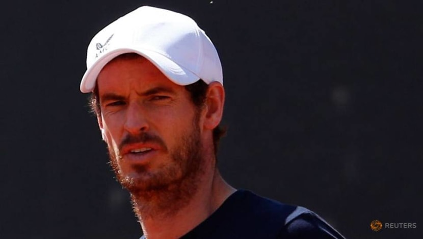 Tennis-Murray not yet ready to compete, skips Nottingham grasscourt event
