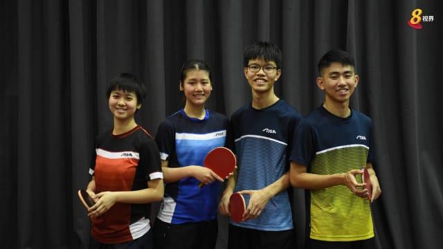 今年升上国家队 四乒乓新锐将迎东运会首秀