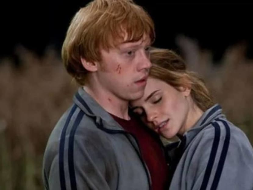Harry Potter's Ron Weasley is having a baby