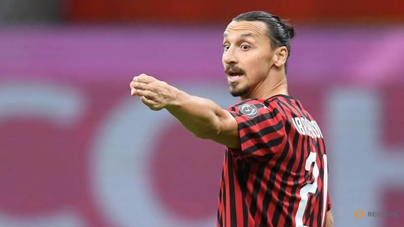 Football: Ibrahimovic to stay at Milan for another season