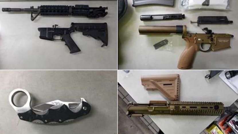 Man who smuggled airsoft rifles into Singapore from Malaysia gets jail and fine along with his buyer