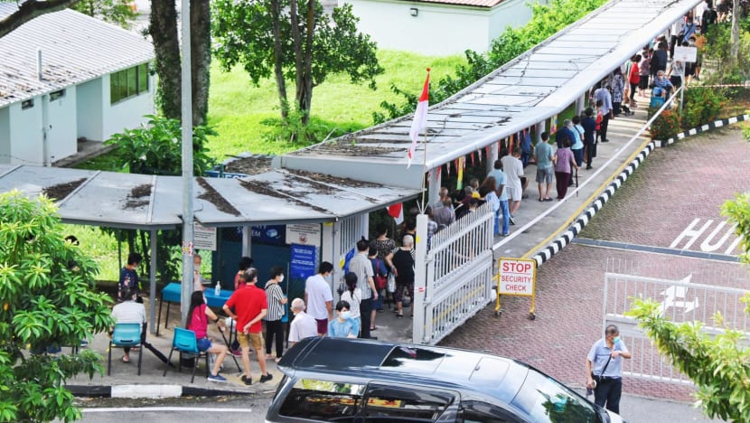 GE2020: Voters face 'longer than usual' queues at polling stations, younger people advised to stick to time bands