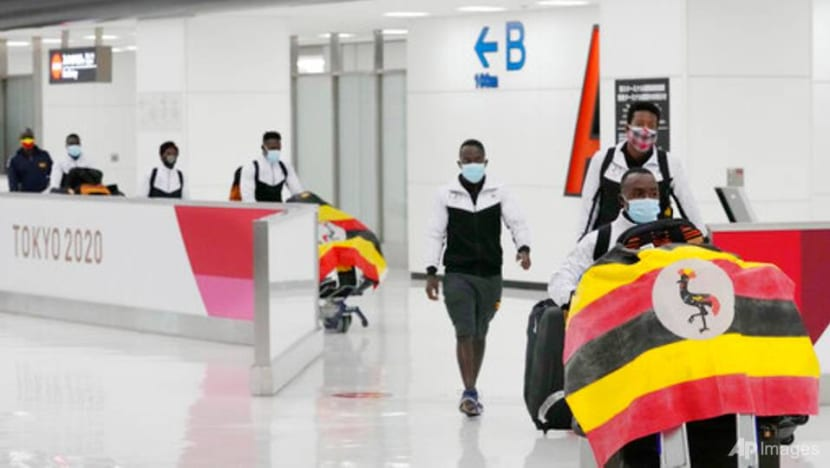 Olympics: Uganda team member reportedly tests positive for COVID-19 on arrival in Japan