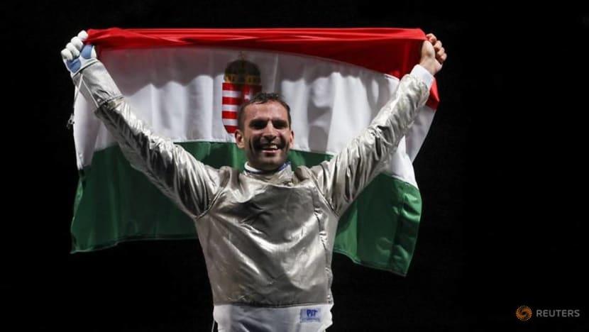 Hungarian Szilagyi wins gold in men's sabre individual