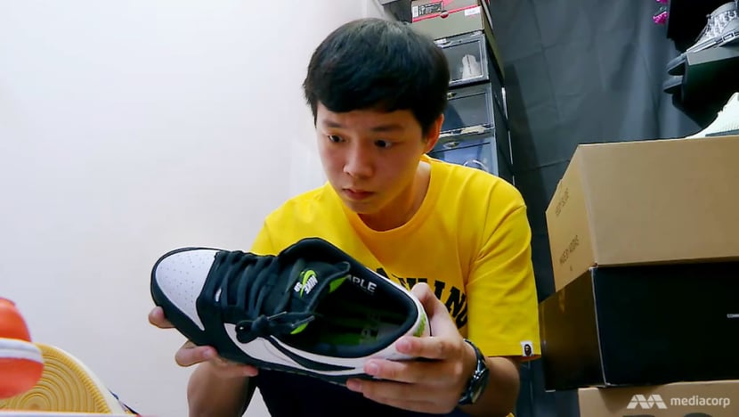 This 16-year-old can rake in S$30,000 a month reselling sneakers