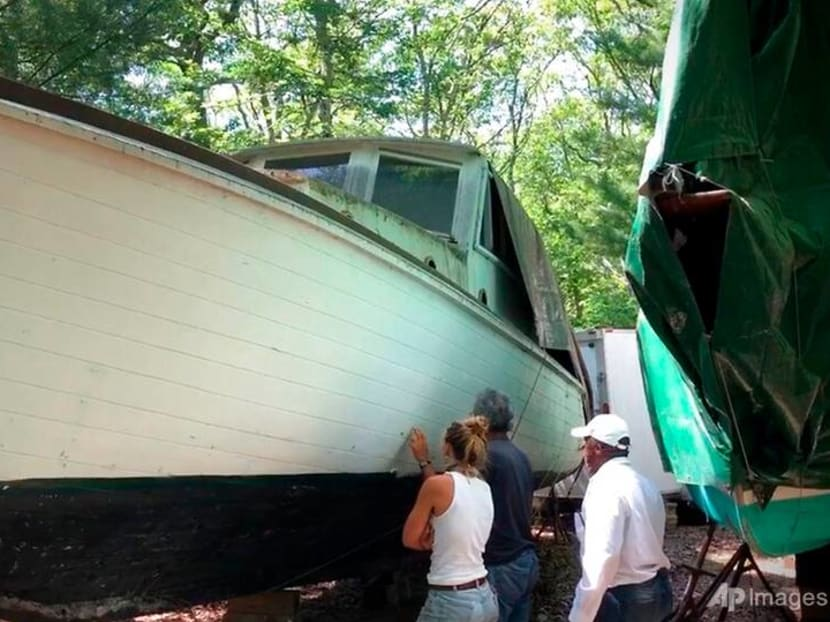 Replica of Jaws boat is headed back to the water, this time to save sharks