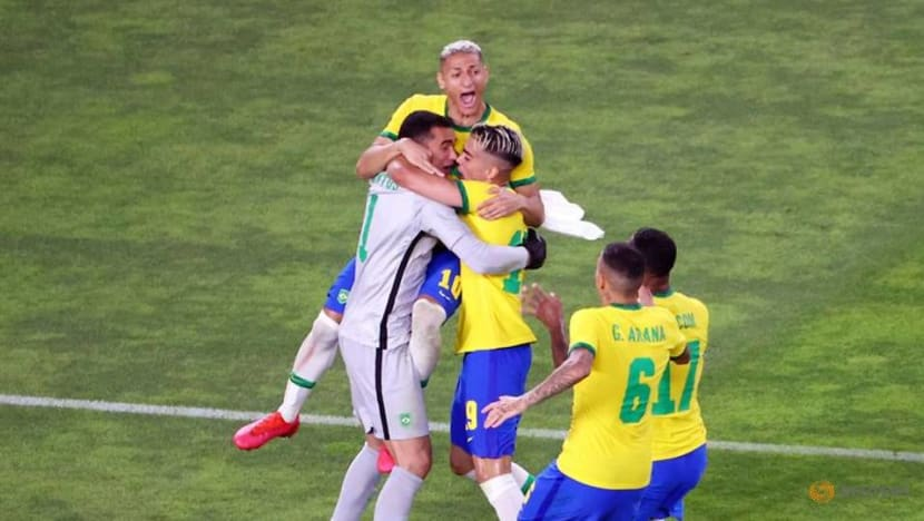 Brazil down Mexico on penalties to reach Olympic men's football final