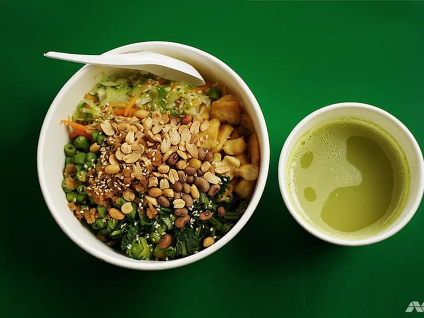 Best eats: This nutty vegan rice bowl in Bukit Timah strikes like a thunderbolt