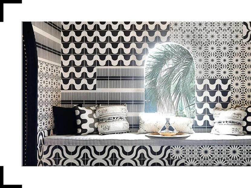 Mosaic tiles and sex appeal: The imaginative fantasy of Moroccan design