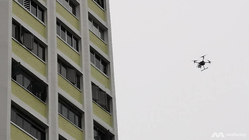 Heady days: Use of drones to detect defects on HDB blocks takes flight