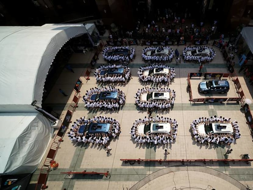 Last Palm Standing – Mediacorp Subaru Car Challenge flags off with 400 contestants