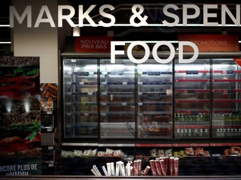 As Brexit bites, salads and sandwiches run out at Paris M&S stores