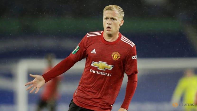 Football: Van de Beek has big part to play for Man Utd, says Solskjaer