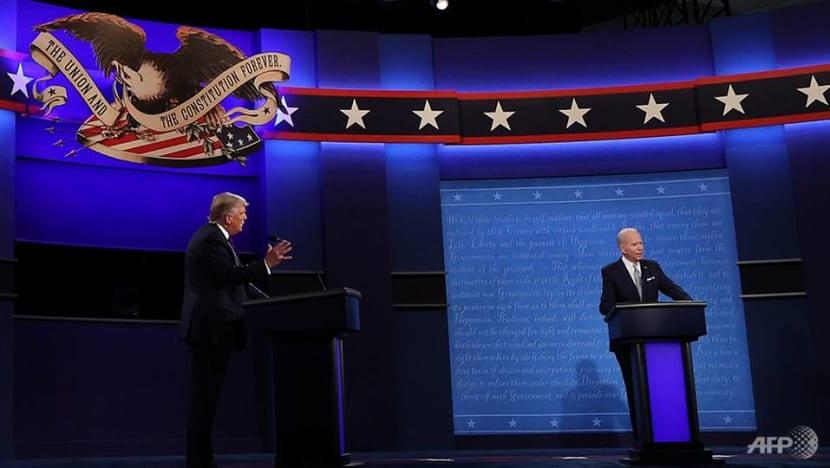 Trump and Biden go on the attack in fiery, chaotic first presidential debate