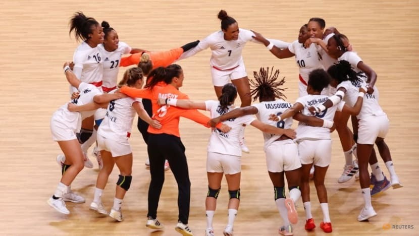 Olympics-Handball-France earn first women's gold with 30-25 win over ROC