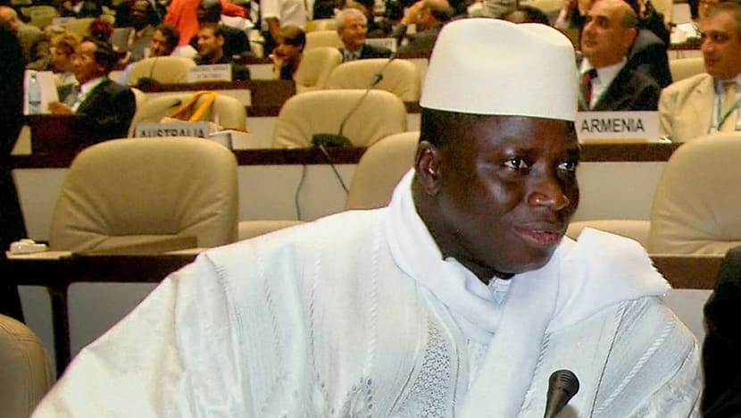 Thousands in Gambia rally for ex-dictator's return
