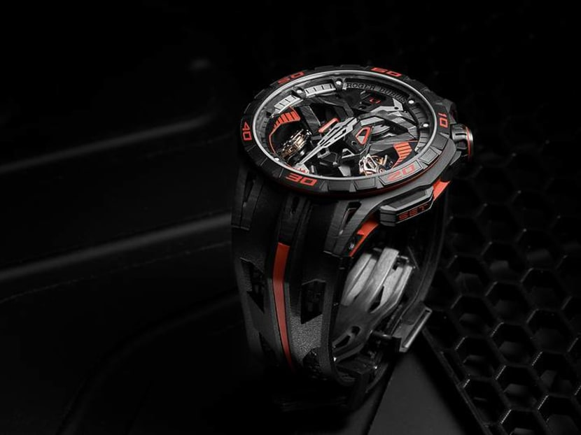 What happens when a watchmaker, a carmaker and a tyre maker jump in bed