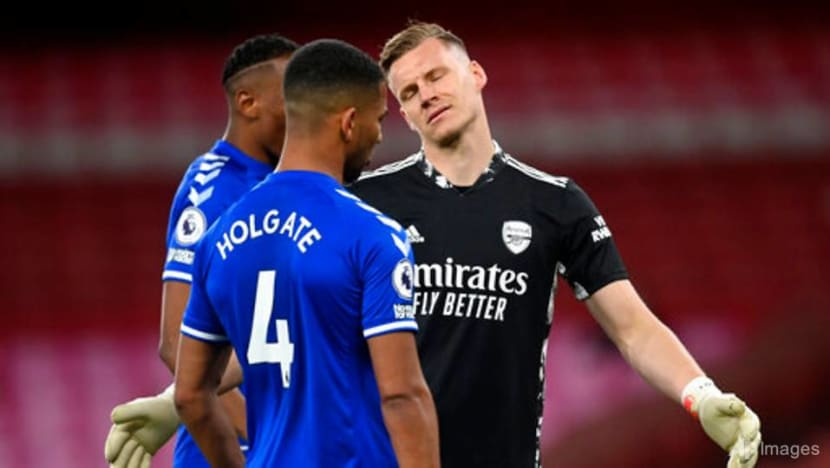 Football: Leno blunder gifts Everton 1-0 win over Arsenal