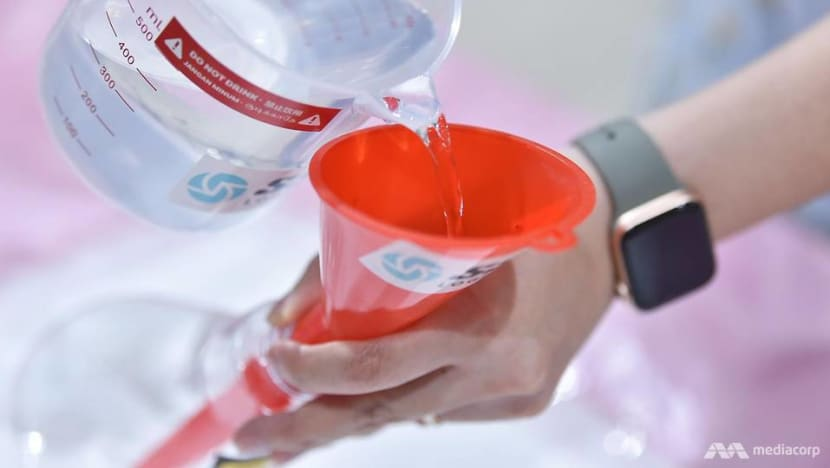 Hand sanitiser collection centre locations revised: Temasek Foundation