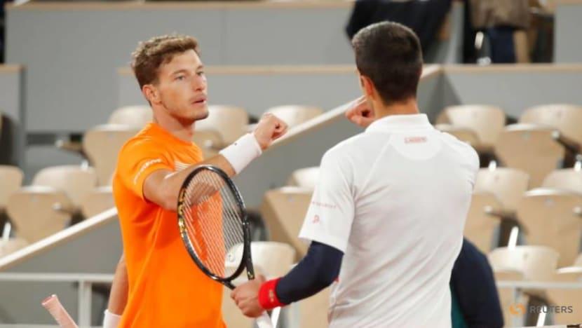 Tennis: Carreno Busta accuses Djokovic of feigning injury concerns