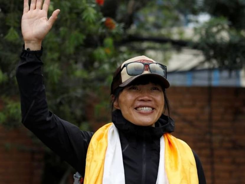 Tired but safe: Everest record-making climbers return