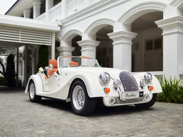 Now in Singapore: A vintage-looking car with a powerful, modern engine