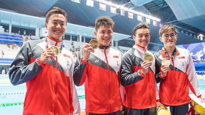 Asian Games: Singapore clinch bronze in men's 4x100m freestyle relay