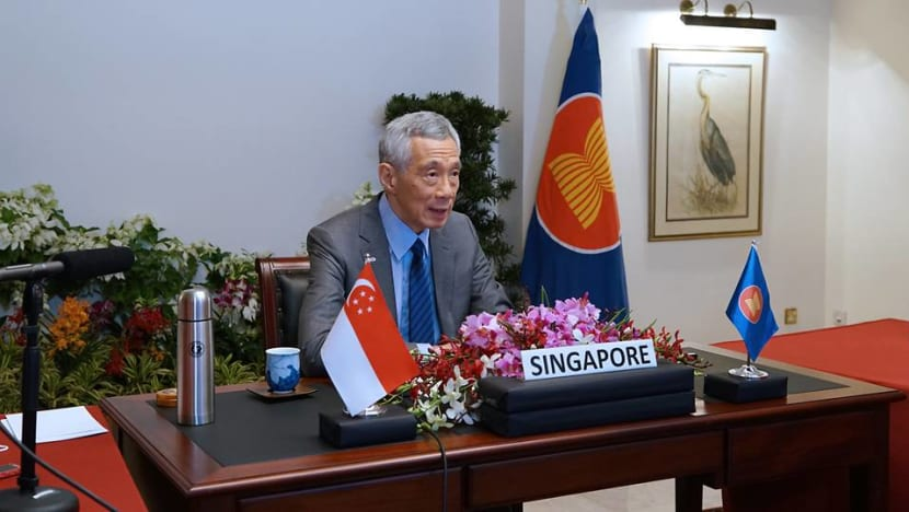 PM Lee calls for greater ASEAN cooperation amid fight against COVID-19