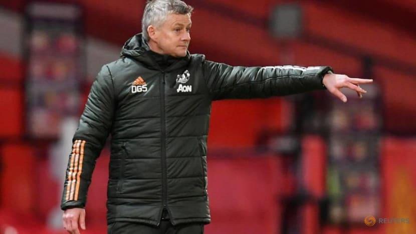 Soccer-Next few games could define Man Utd's season, says Solskjaer