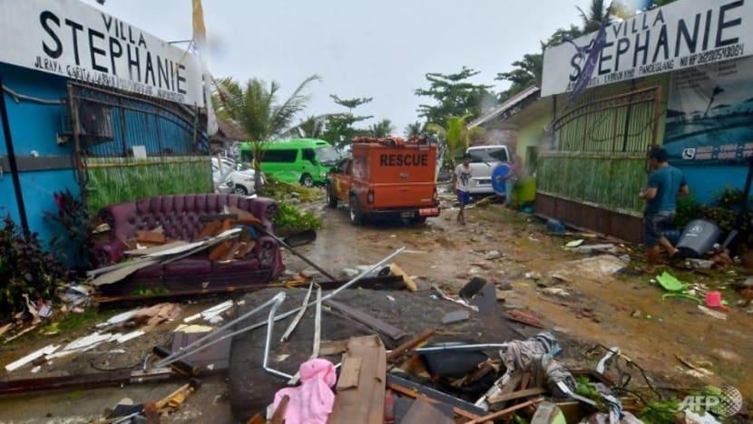 Indonesia tsunami: Singapore leaders express condolences