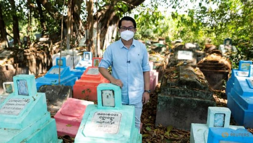 Myanmar doctor battles to keep country's best-known pet cemetery open