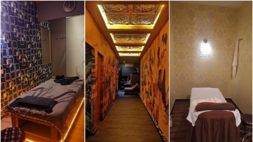9 massage operators, masseuses under investigation after police raids