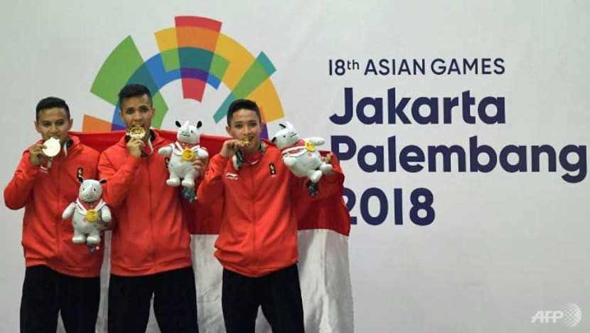 Hosts Indonesia smash Asian Games record