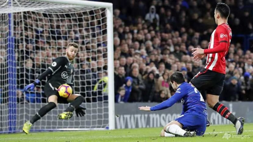 Football: Sarri admits new striker needed as Chelsea frustrated by Saints