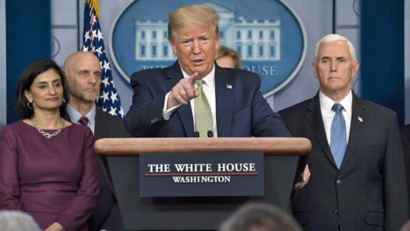 Trump calls for national unity against coronavirus