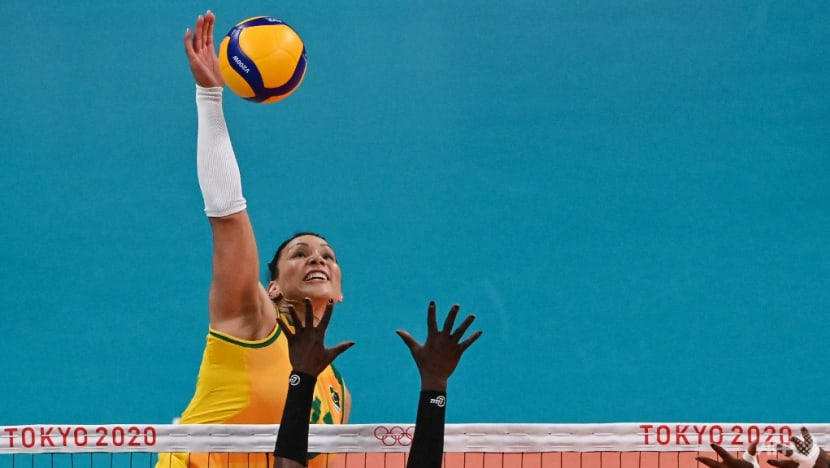 Olympics: Volleyball player claims innocence over positive drug test