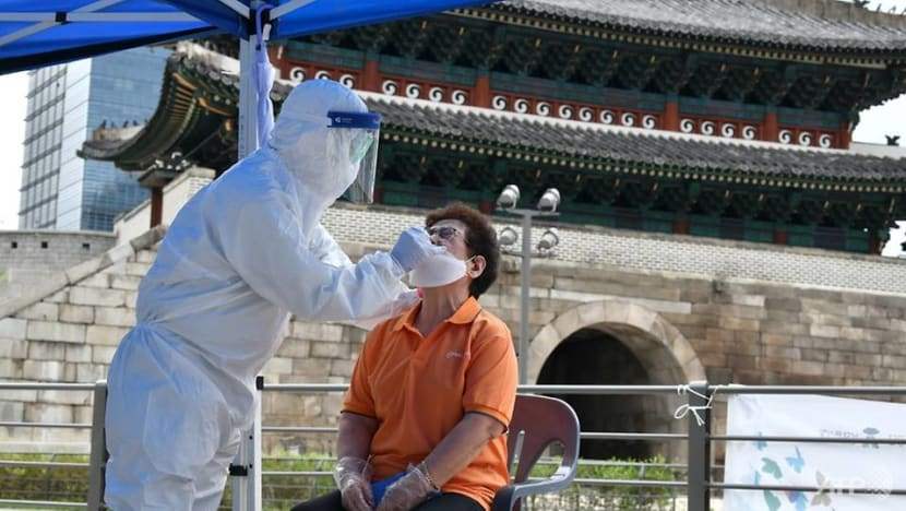 South Korea records most local COVID-19 cases since end-March with 103 new infections