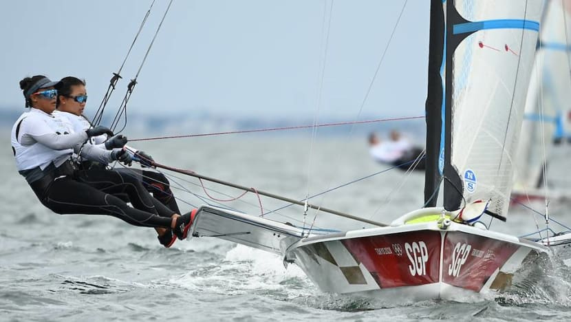 'We just kept pushing to the end': Kimberly Lim and Cecilia Low finish historic Games sailing campaign in 10th