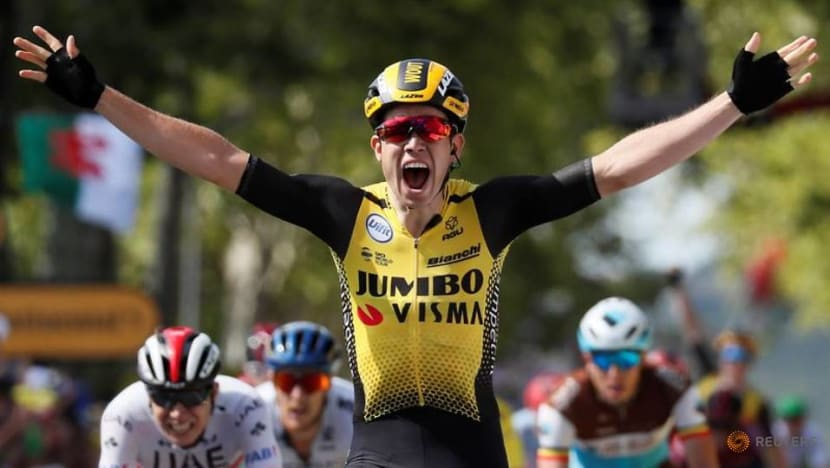 Cycling: Van Aert edges Alaphilippe in tight Milan-Sanremo finish