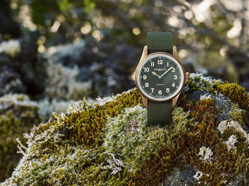 Bored of the usual black, white or silver dials? Try going green instead
