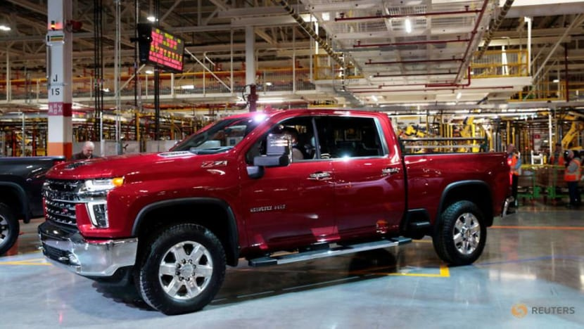 GM reports strong profits on good sales of pricier vehicles