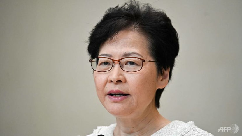 Carrie Lam regrets foreign interference in Hong Kong's affairs, says more violence will not solve social issues